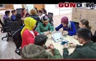 Robotik Kodlama ve Stem kursu düzenlendi