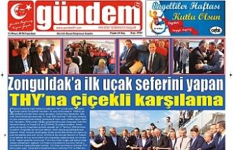 13 MAYIS 2019 PAZARTESİ GÜNDEM GAZETESİ