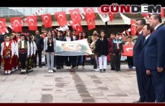 ALAPLI'DA 19 MAYIS COŞKUSU!..