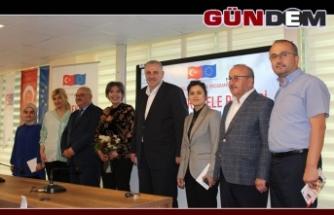 """""""Dernekler Elele"""" Proje Tantım Toplantısı Kozlu'da Yapıldı"""