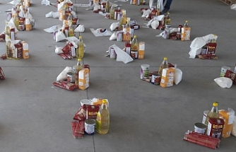 Gıda paketleri sahiplerine ulaştı