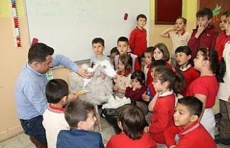 Öğretmenin örnek hareketi