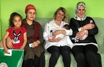 Yenidoğan ziyaretleri sürüyor