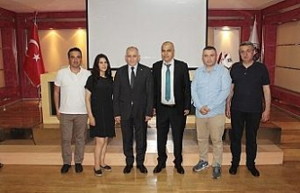 Arap işadamı Raish'den DTSO'ya ziyaret