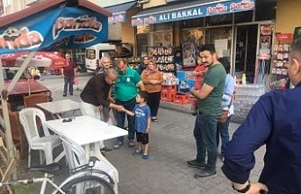 Başkan Bozkurt, ilgiyle karşılandı