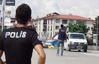 Düzce polisinden drone destekli uygulama
