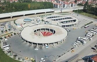 Düzce'de ilçe otobüsleri terminale taşınıyor