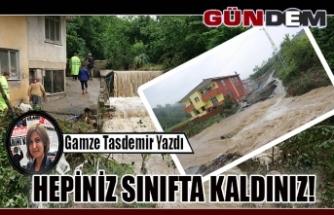 HEPİNİZ SINIFTA KALDINIZ!