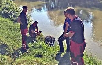 Irmakta mahsur kalan mandaya operasyon