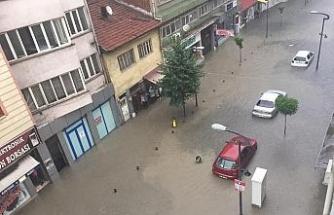 Karabük'te metrekareye 30 kilogram yağış düştü