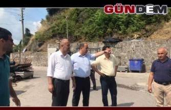 Karapınar Belediye Başkanı Gülüç'ü inceledi...