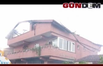 Meclis üyesinin evine yıldırım düştü