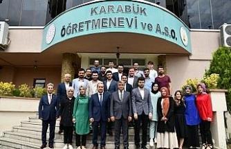 Vali Gürel, Genç MÜSİAD üyeleri ile bir araya geldi
