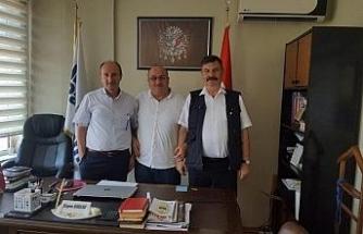 Zonguldak Türk Ocağından İhlas Pazarlama ve Türkiye Gazetesi'ne ziyaret