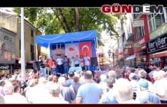 BAŞKAN TEKİN HACI ADAYLARINI UĞURLADI..
