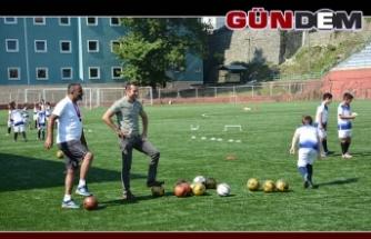 Ereğli Belediyespor Futbol Okuluna yoğun ilgi!..