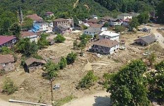 Esmahanım ve Uğurlu köylerinde devam eden çalışmalar havadan görüntülendi