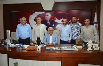 Kızılay'ın yeni yönetimi Posbıyık'ı ziyaret etti