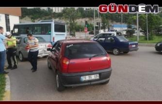Zonguldak Caddesinde Kaza!..