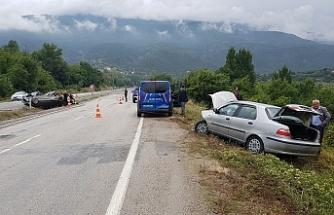 8 Ayrı Trafik Kazasında; 20 yaralı