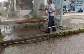 Düzce Belediyesinden kapsamlı temizlik çalışması