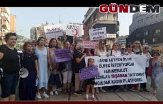 Kadınlar Emine Bulut cinayeti için toplandı!..