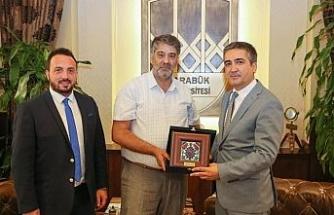 MÜSİAD'dan Rektör Polat'a ziyaret