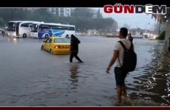 Terminal sular altında!..