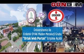 BEÜ-ERDEMİR'DEN ORTAK ERİŞİM!..