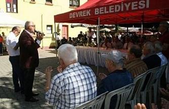 Aşure Programı Müftü Hasan İzmirli'nin Duaları İle Start Aldı