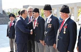 Gaziler Günü Bartın'da törenle kutlandı