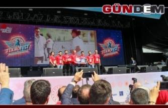 Grizu-263, ödülünü Cumhurbaşkanı Erdoğan'ın elinden aldı!..