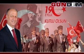 Kaymakam Çorumluoğlu'nun 19 Eylül Gaziler Günü mesajı...