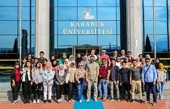KBÜ, Erasmus ve Mevlana'dan gelen öğrencileri ağırladı