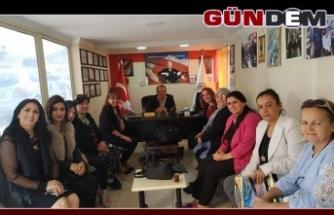 MHP Kadın Kolları'ndan Şirin'e ziyaret