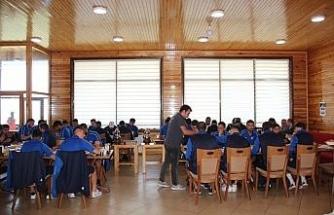 Yenice Belediye Başkanı  Çaylı'dan Karabükspor'a moral kahvaltısı