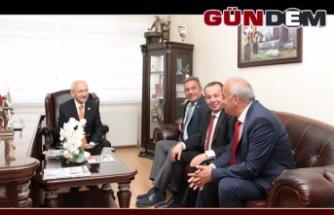 Bozkurt CHP lideri Kılıçdaroğlu ile buluştu