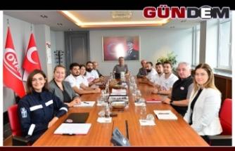 ERDEMİR'E TEŞEKKÜRE GİTTİLER!..