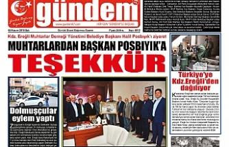05 KASIM 2019 SALI GÜNDEM GAZETESİ