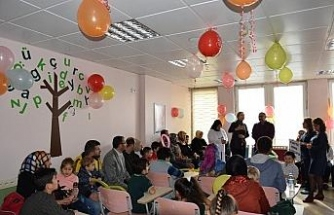 Diyabet hastası çocuklar gönüllerince eğlendi