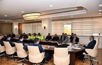 """Karabük'te """"Kar ve Buzla Mücadele Koordinasyon"""" toplantısı"""