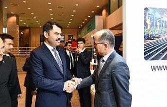 KARDEMİR Genel Müdürü Soykan, Bakan Kurum'a çevre yatırımlarını anlattı