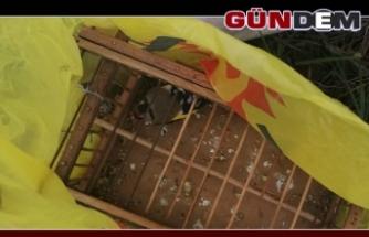 Saka kuşu avcılarına jandarmadan suçüstü