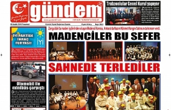 09 ARALIK 2019 PAZARTESİ GÜNDEM GAZETESİ