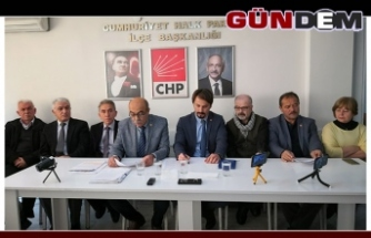 CHP ilçe baskani Posbıyık'a sahip çıktı