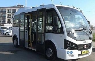 Düzce'de toplu taşımada yeni minibüsler