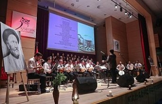 KBÜ Resim Bölümünden Türk Halk Müziği konseri