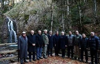 Vali Gürel ve milletvekilleri Baklabostan Tabiat Parkını inceledi