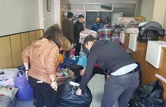Devrek'te Elazığ'a yardım kampanyası başlatıldı...