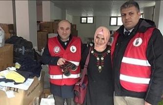 Engelli vatandaştan depremzedeler için duygulandıran yardım